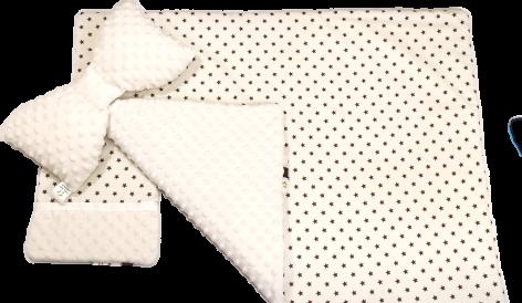 kołderka dla noworodka do łóżeczka kołyski
