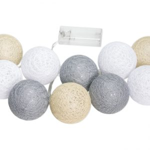 Cotton balls beż krem szary